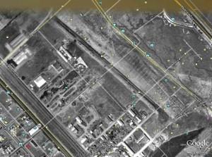 old San Carlos Airport behind Home Depot 1948
